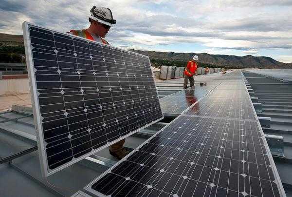 nowoczesne baterie słoneczne