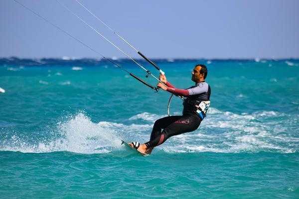 kitesurfing na półwyspie helskim